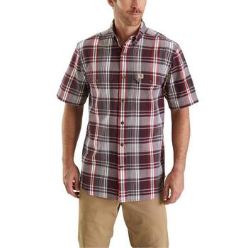 Carhartt Men's Fort Plaid Short Sleeve Shirt #103553